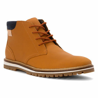 a327af5ef7357 Lacoste Montbard Chukka SRM Leather Sneaker Shoe Tan Ankle Boot Men Size 9  - 12
