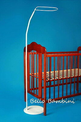 BABY COT/cot bed /CRIB  CANOPY STAND/HOLDER -FREE STANDING  rod ,pole,holder