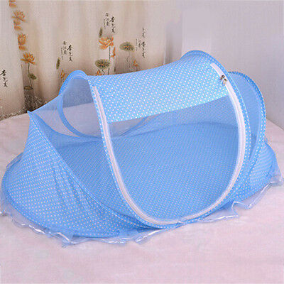 Baby Mosquito Netting Cradle Bed Breathable Soft Baby Cot Canopy Tent Pillow NEW