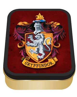 Harry Potter Gryffindor Collectors Red Gold Tin Pop Culture Geek Collectible