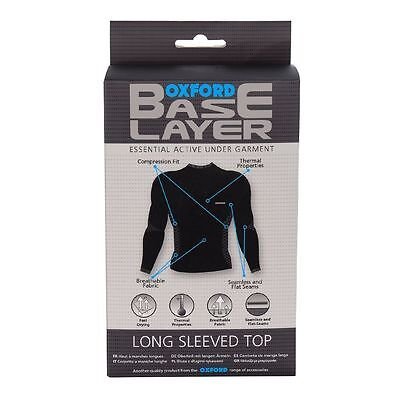 Oxford Bike/Motorcycle Riding Long Sleeve Base Layer Compression Top