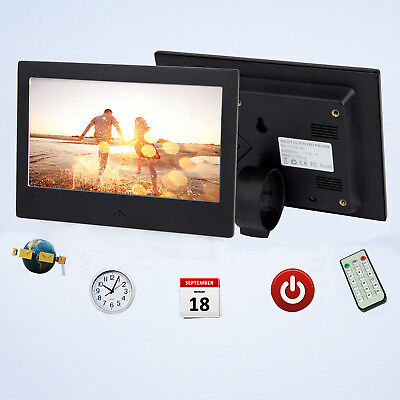 "7"" Digital Photo Frame Free 8GB SD Card Video Player Backlight Remote Control"