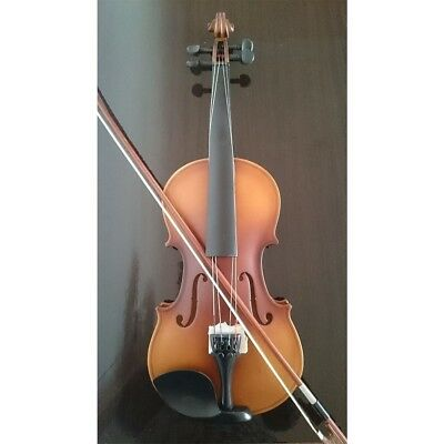 Student Acoustic Violin Full 1/4 Maple Spruce with Case Bow Rosin Color Classic