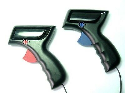 Scalextric Start Replacement Hand Throttle Red & Blue Pack Set