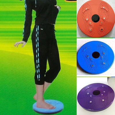 Twist Waist Torsion Body Massage Board Aerobic Foot Exercise Fitness Twister XC
