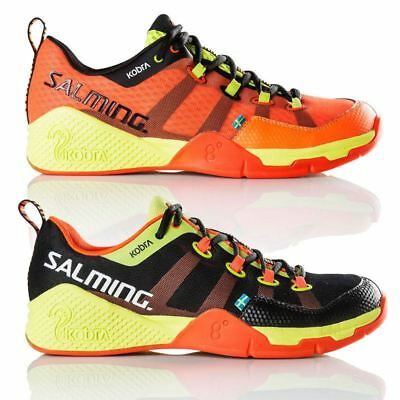 Salming Kobra Men's Black Orange Squash Shoes 2017 Edition