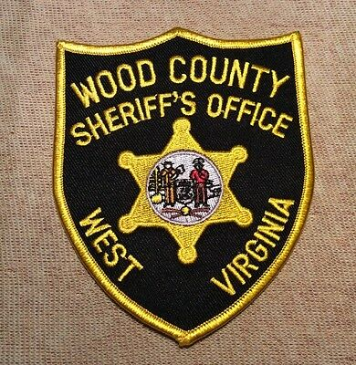 WV Wood County West Virginia Sheriff Patch