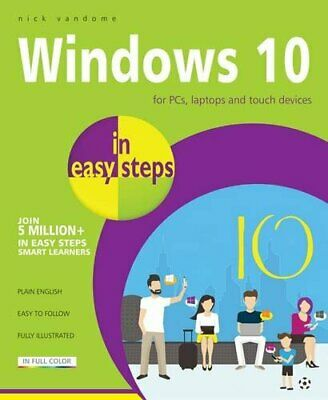 Windows 10 in easy steps by Nick Vandome Book The Cheap Fast Free Post