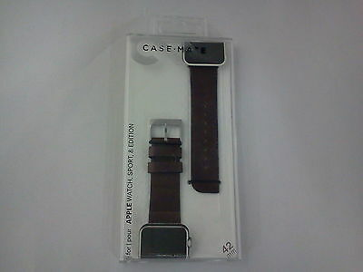 CaseMate CM032795 Watch Band for the 42mm Apple Watch Brown