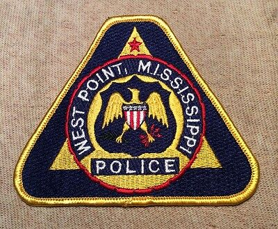 MS West Point Mississippi Police Patch