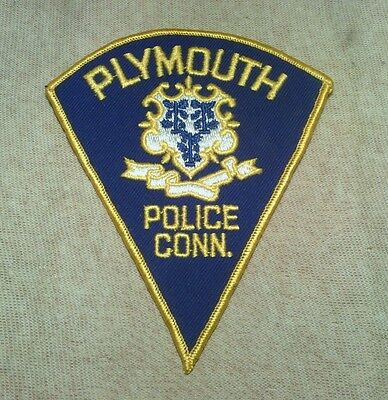 CT Plymouth Connecticut Police Patch