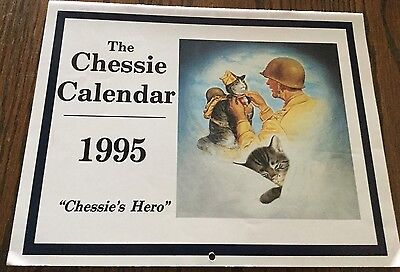 Chessie Calendar 1995 - Suitable For Framing, From C&O Historical Society