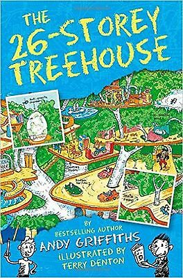 The 26-Storey Treehouse by Andy Griffiths (Paperback) New Book