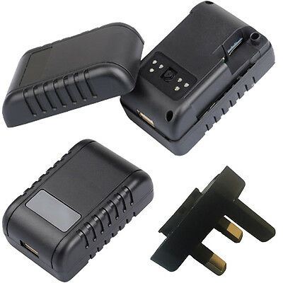 1080P HD WIRELESS P2P WiFi IP NIGHT VISION SPY CAMERA IN USB WALL PLUG CHARGER