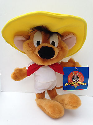 Speedy Gonzales Mouse Plush Stuffed Character Looney Tunes 1997 Collectible Rare