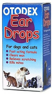 Dog Ear Drops Mites Treatment Vetzyme 18 ml Wax Cleaner Antibacterial Cleanser