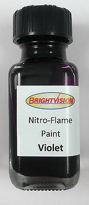 Brightvision VIOLET Nitro-Flame Redline Restoration and Custom Paint - VIOLET