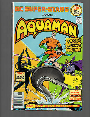 Dc Super Stars #7 Aquaman Vf+