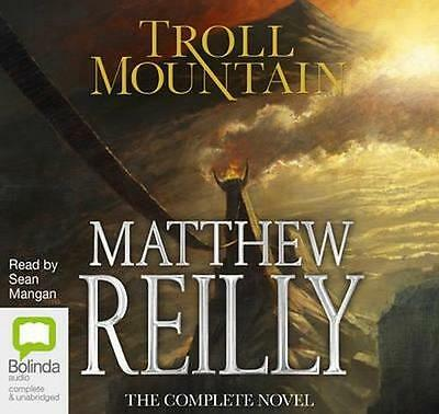 NEW Troll Mountain By Matthew Reilly Audio CD Free Shipping