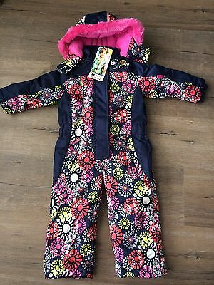 France Orchestra Girls Snowsuit Ski suit Snow All In One Size 3