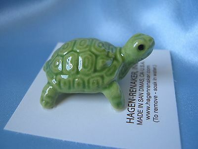 Hagen Renaker Coin Turtle 332 Figurine Ceramic Miniature FREE SHIPPING NEW