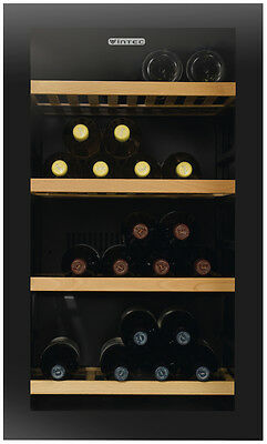 NEW Vintec V30SGMEBK 35 Bottles Wine Storage Cabinet
