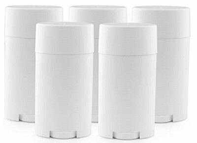 DMtse Deodorant Containers, New & Empty; Pack of 5 [Refillable Containers] NEW