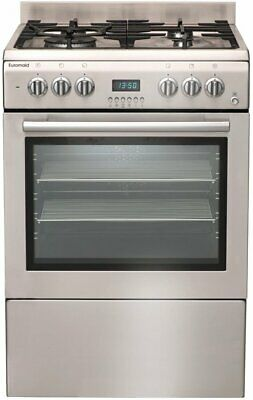 NEW Euromaid GTEOS60 Freestanding Dual Fuel Oven/Stove
