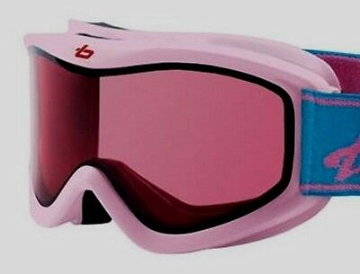 Bolle White AMP Kids Childrens Snow Ski Goggles 3-8 Years New in Box