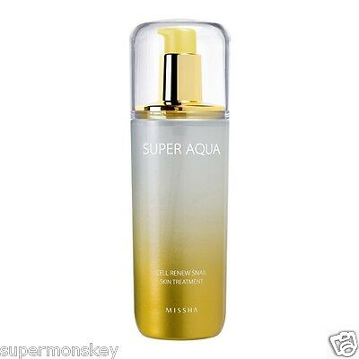 MISSHA SUPER AQUA CELL RENEW SNAIL SKIN TREATMENT 130ml