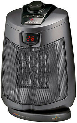 NEW Kambrook KCE95GRY Electric Ceramic Tower Heater