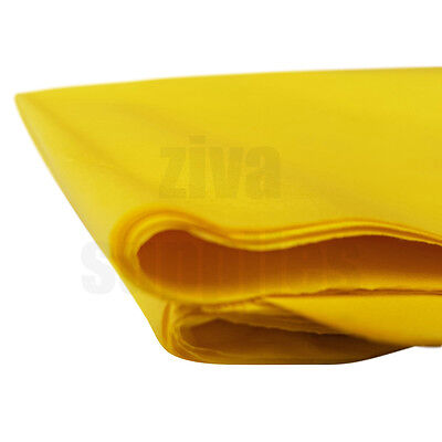 (Yellow) TISSUE PAPER SHEETS Acid Free 500mm x 750mm 17gsm Pack Gifts Wrapping