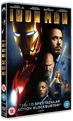 Iron Man DVD (2008) Robert Downey Jr, Favreau (DIR) cert 12 Fast and FREE P & P