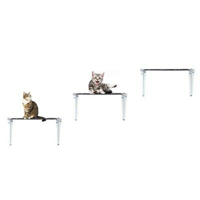 Cat Climbing Shelf Cat Jumping Table Cool Casual Cat Shelf    black   large