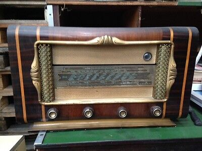 ancien poste radio lampe identifier bois et bakelite eur 50 00 picclick fr. Black Bedroom Furniture Sets. Home Design Ideas