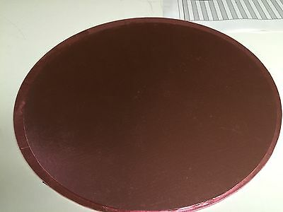 "TRADE PRICE Cake board Light Pink 16"" Round circle 4mm Thickness"
