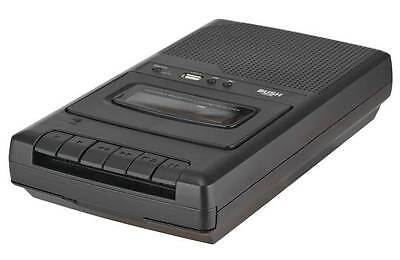 Bush Cassette Recorder and Player - Black