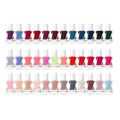 Essie Gel Couture - Todos los Colores Disponibles - 0.46oz / 13.5ml Cada