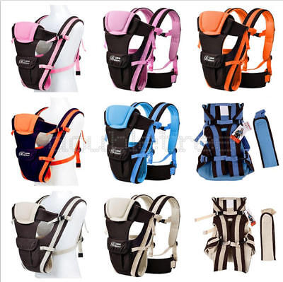 Durable Newborn Front Infant Baby Carrier Comfort Baby Sling Wrap Bag Backpack