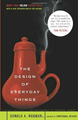 The Design of Everyday Things by Norman, Don Paperback Book The Cheap Fast Free