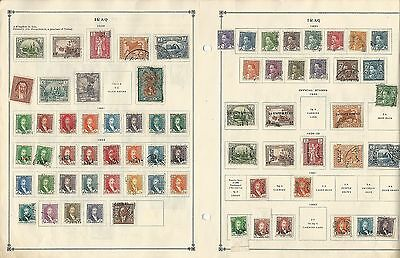Iraq & Ireland Collection 1922 to 1939 on 4 Scott International Pages