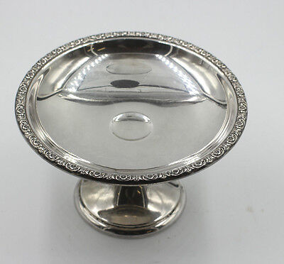 "International Sterling Prelude Pattern Compote Padestal Dish 6 Inch  ""1939"""