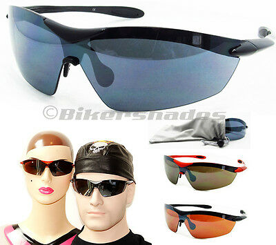 TR90 Sports Sunglass Golf Cycling Baseball Tennis One Piece Lens Polycarbonate