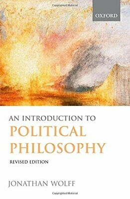 An Introduction to Political Philosophy by Wolff, Jonathan Paperback Book The