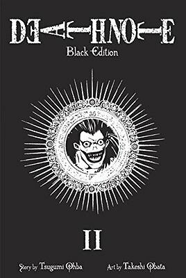 DEATH NOTE BLACK ED TP VOL 02 (C: 1-0-0), Ohba, Tsugumi Paperback Book The Cheap