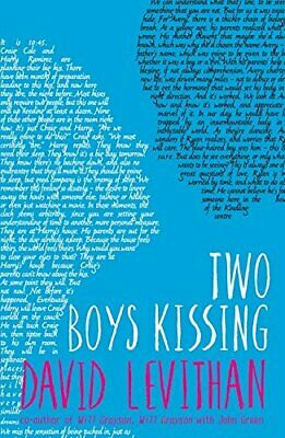 Two Boys Kissing by Levithan, David Book The Cheap Fast Free Post