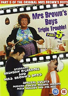 MRS BROWNS BOYS 5 - DVD  1YVG The Cheap Fast Free Post