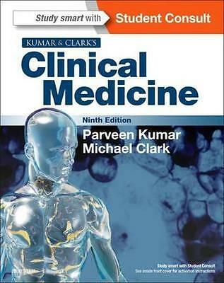 NEW Kumar and Clark's Clinical Medicine By Parveen Kumar Paperback Free Shipping