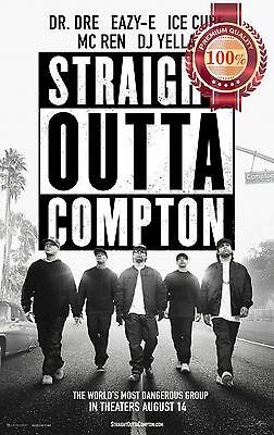 New Straight Outta Compton Dr Dre Ice Cube Music Movie Print Premium Poster