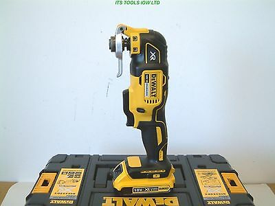 DeWALT DCS355D2 18V XR OSCILLATING MULTI-TOOL 2 x 2Ah BATTERIES & ACCESSORIES